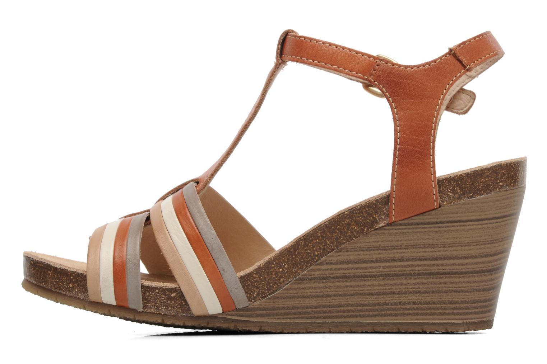 Sandales et nu-pieds Pikolinos BENISSA 868-7307 Multicolore vue face