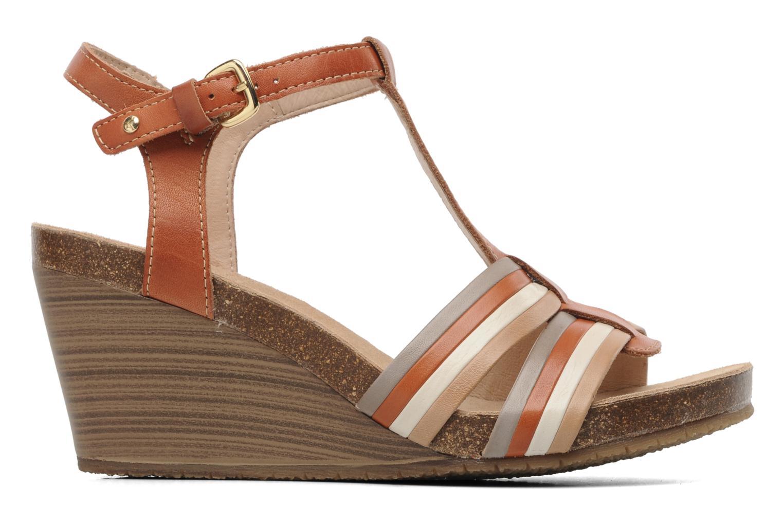 Sandales et nu-pieds Pikolinos BENISSA 868-7307 Multicolore vue derrière