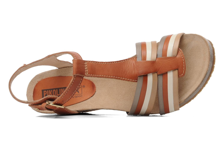 Sandales et nu-pieds Pikolinos BENISSA 868-7307 Multicolore vue gauche