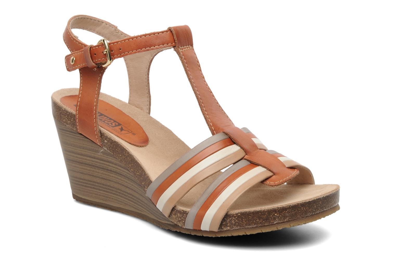 Sandales et nu-pieds Pikolinos BENISSA 868-7307 Multicolore vue détail/paire
