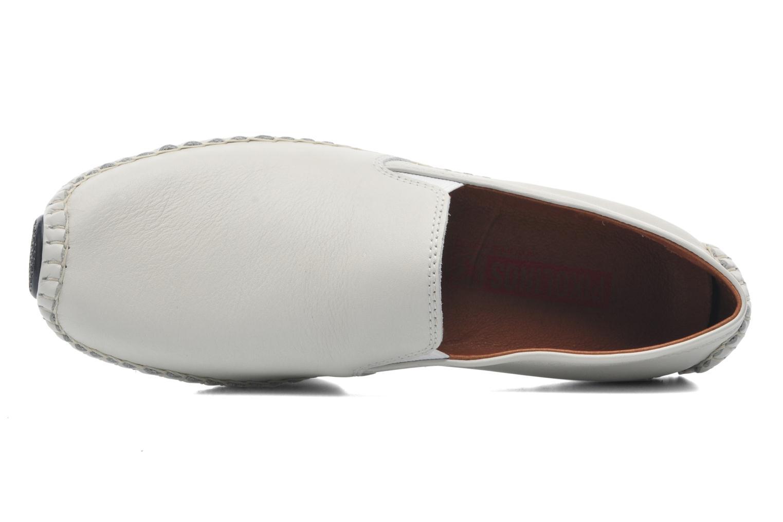 Mocassins Pikolinos Jerez 09Z-5511 Blanc vue gauche