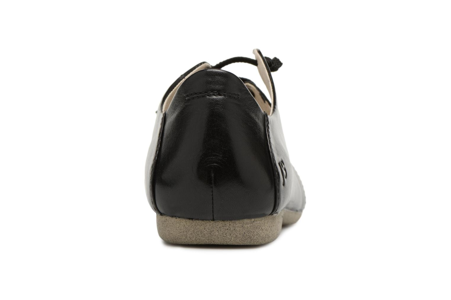 Ballet pumps Josef Seibel Fiona 04 Black view from the right