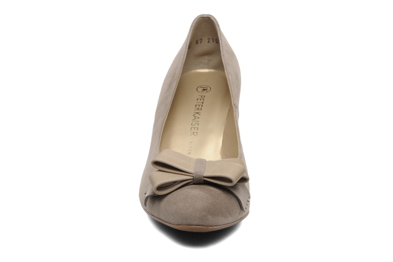 Escarpins Peter Kaiser Hylia Beige vue portées chaussures