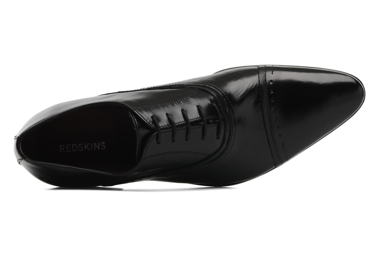 Zapatos con cordones Redskins Gosseti Negro vista lateral izquierda