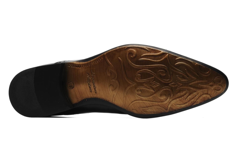 Zapatos con cordones Redskins Gosseti Negro vista de arriba