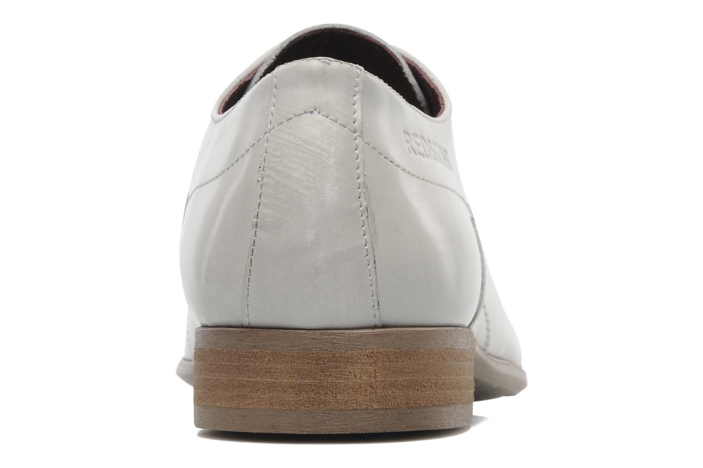 Zapatos con cordones Redskins Tunis Blanco vista lateral derecha