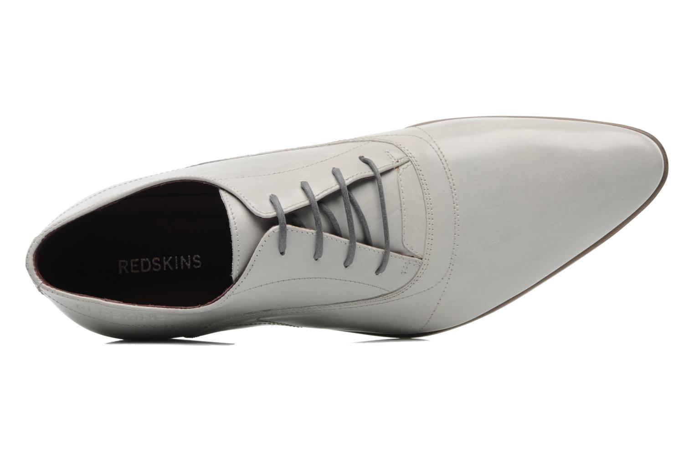 Zapatos con cordones Redskins Tunis Blanco vista lateral izquierda