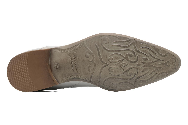 Zapatos con cordones Redskins Tunis Blanco vista de arriba
