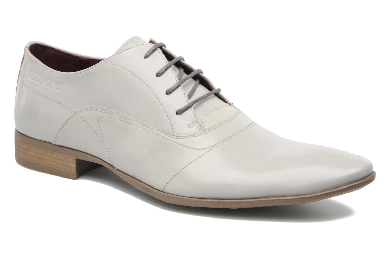 Zapatos con cordones Redskins Tunis Blanco vista de detalle / par