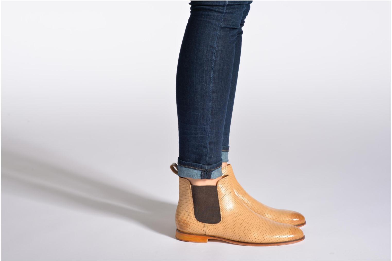 Bottines et boots Melvin & Hamilton Susan 10 Violet vue bas / vue portée sac