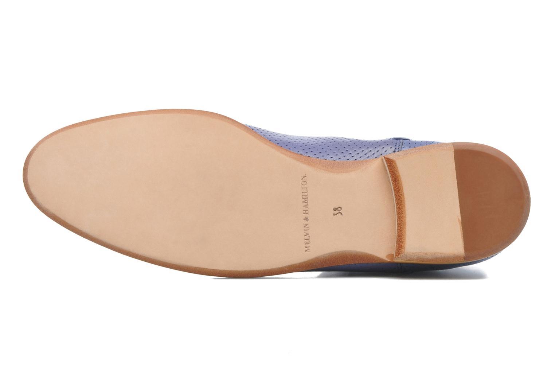 Bottines et boots Melvin & Hamilton Susan 10 Violet vue haut