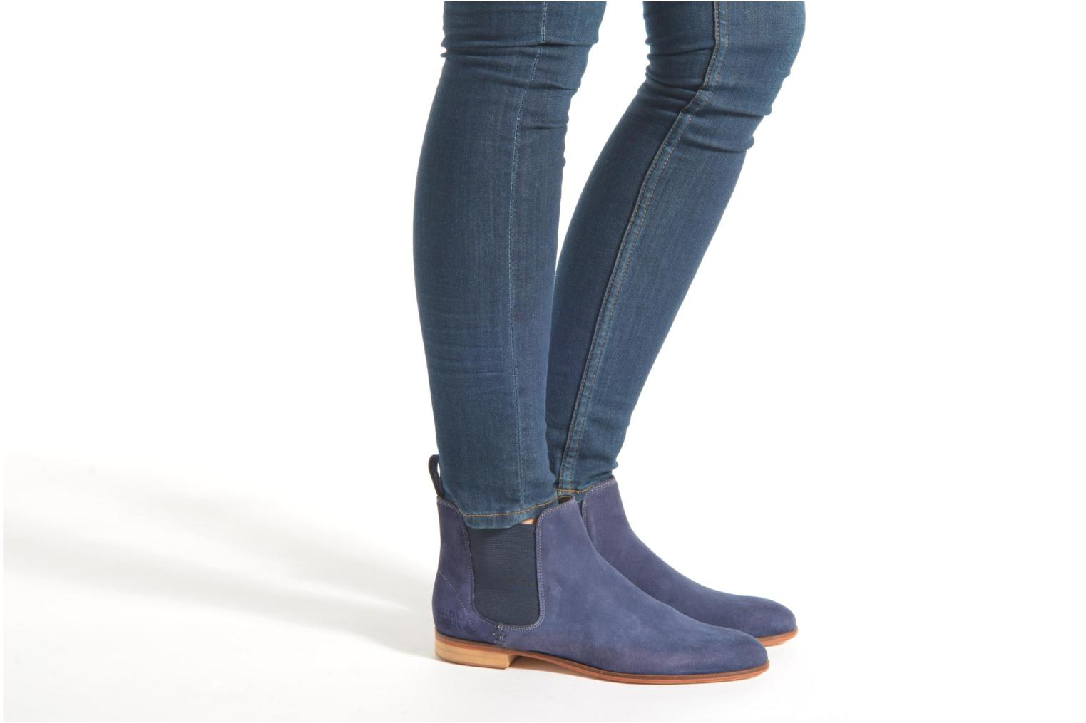 Ankle boots Melvin & Hamilton Susan 10 Blue view from underneath / model view
