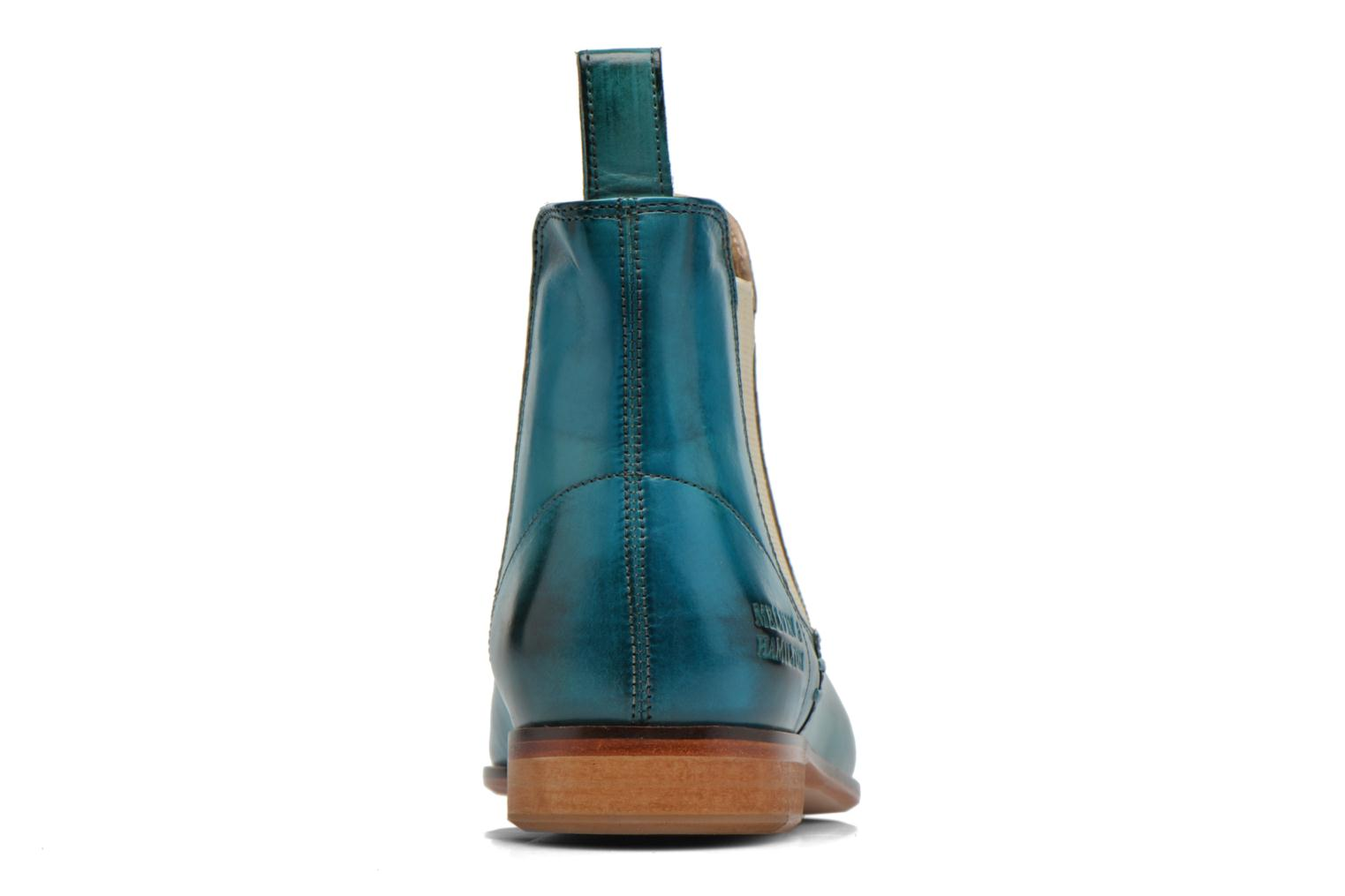 Ankle boots Melvin & Hamilton Susan 10 Blue view from the right