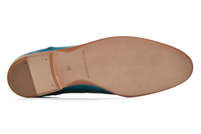 Susan 10 Crust Turquoise Elast. OffWhite Ls