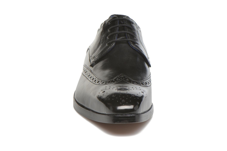 Schnürschuhe Melvin & Hamilton Lewis 3 schwarz schuhe getragen