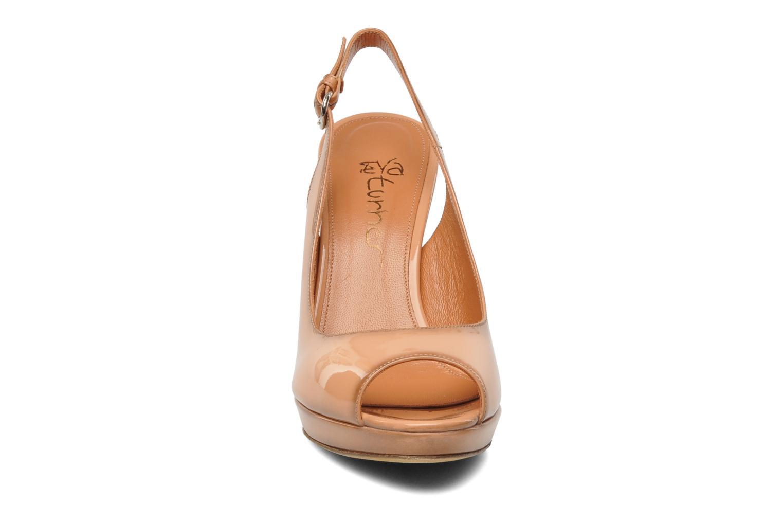 Sandales et nu-pieds Eva Turner Melda Rose vue portées chaussures