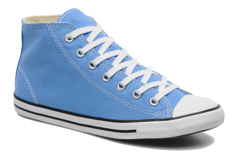 All Star Dainty Canvas Mid W Bleu