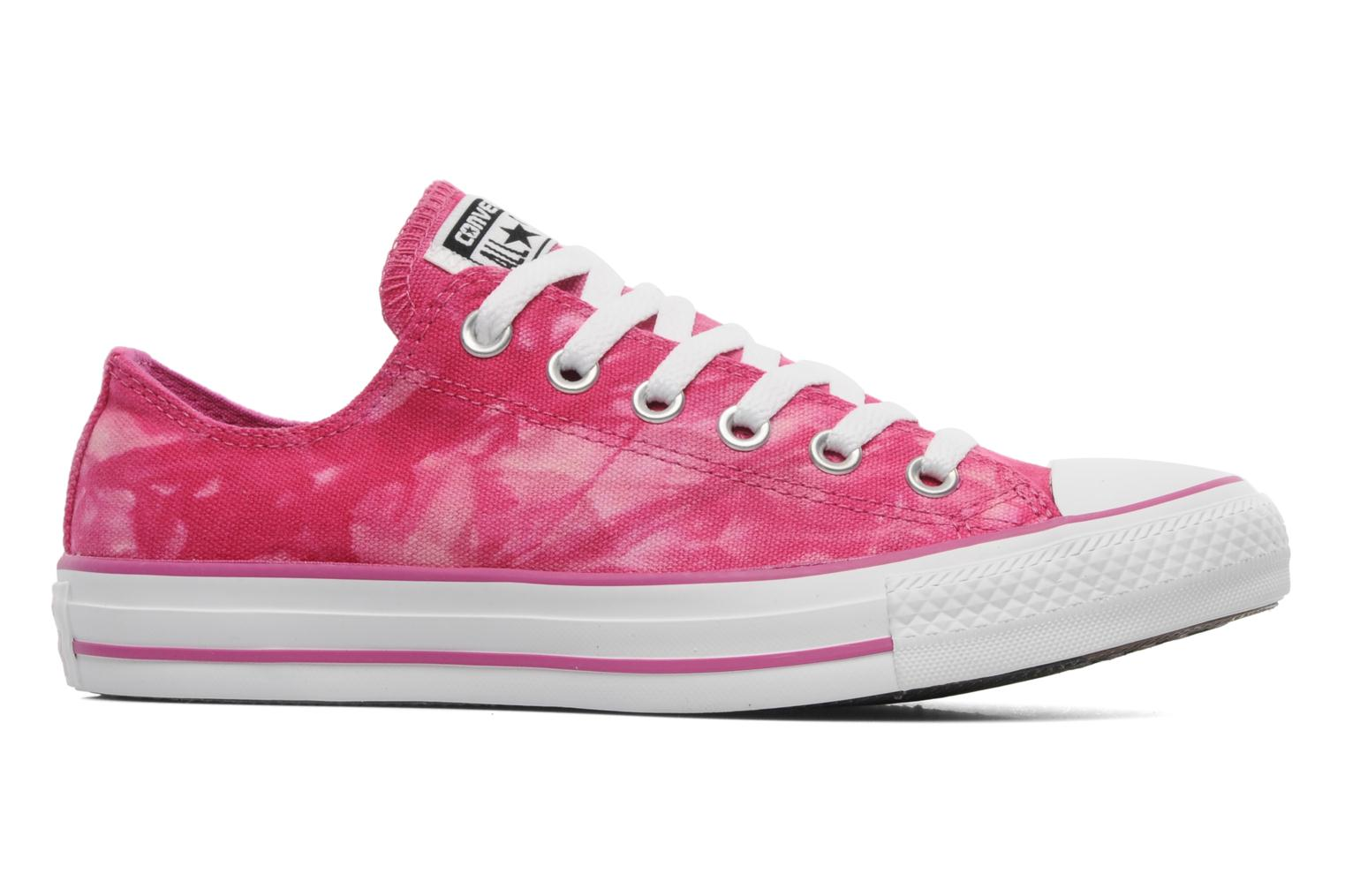 Baskets Converse Chuck Taylor All Star Tie & Dye Ox W Rose vue derrière