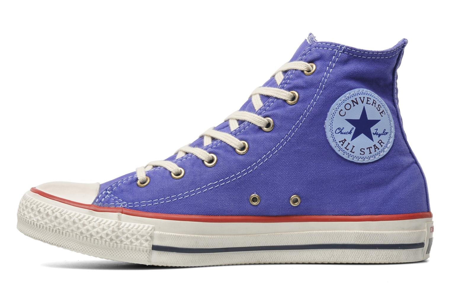 Sneakers Converse Chuck Taylor All Star Well Worn Hi W Paars voorkant