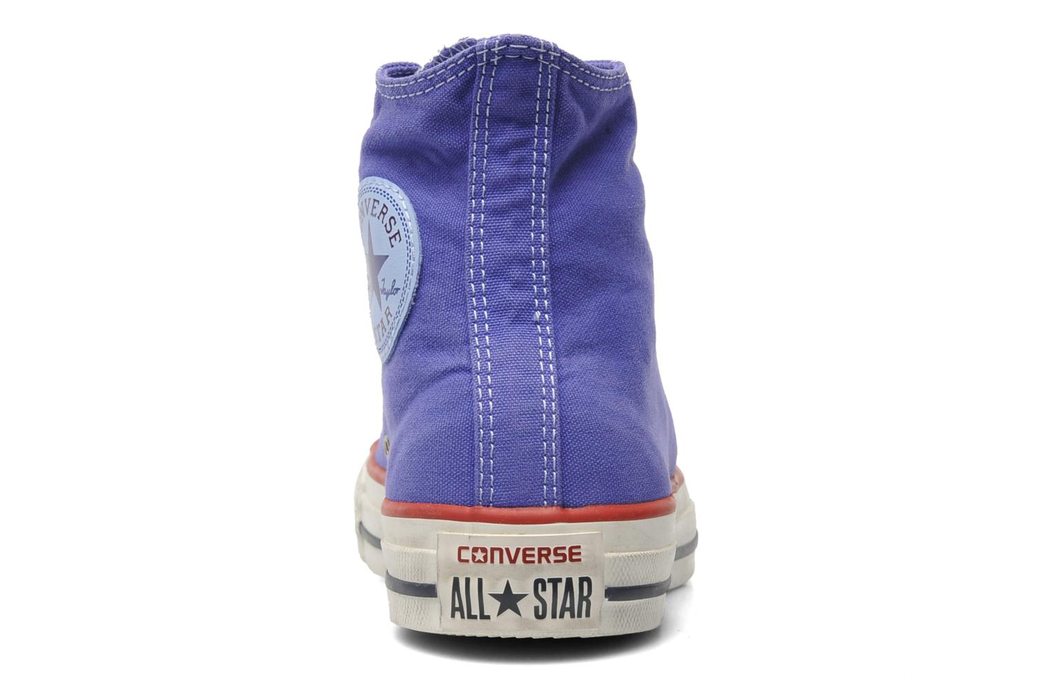 Sneakers Converse Chuck Taylor All Star Well Worn Hi W Paars rechts