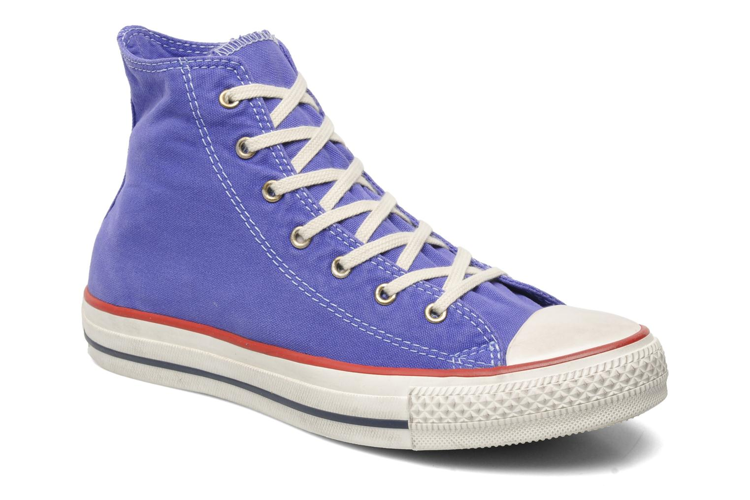 Sneakers Converse Chuck Taylor All Star Well Worn Hi W Paars detail