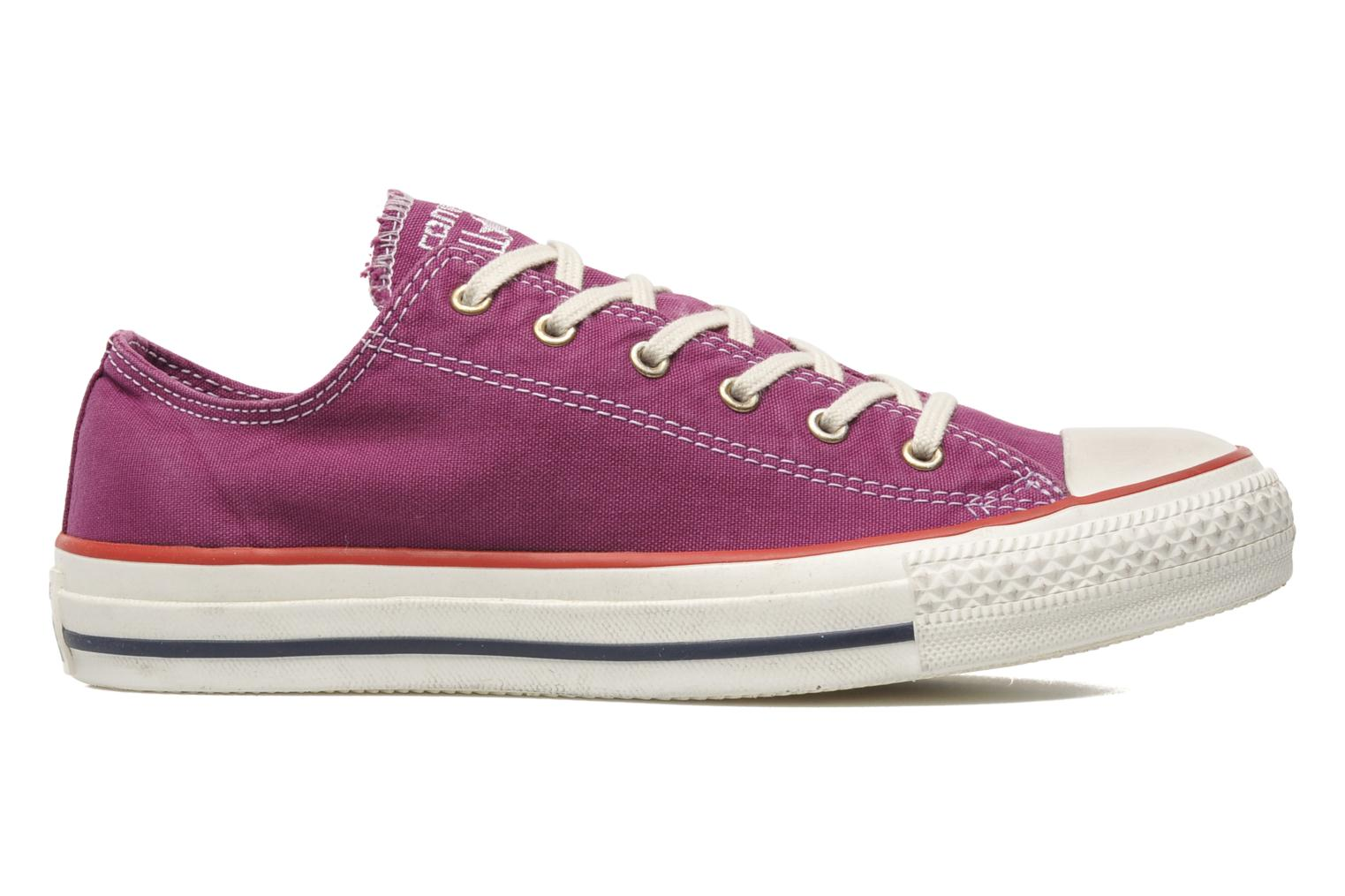 Deportivas Converse Chuck Taylor All Star Well Worn Ox W Rosa vistra trasera