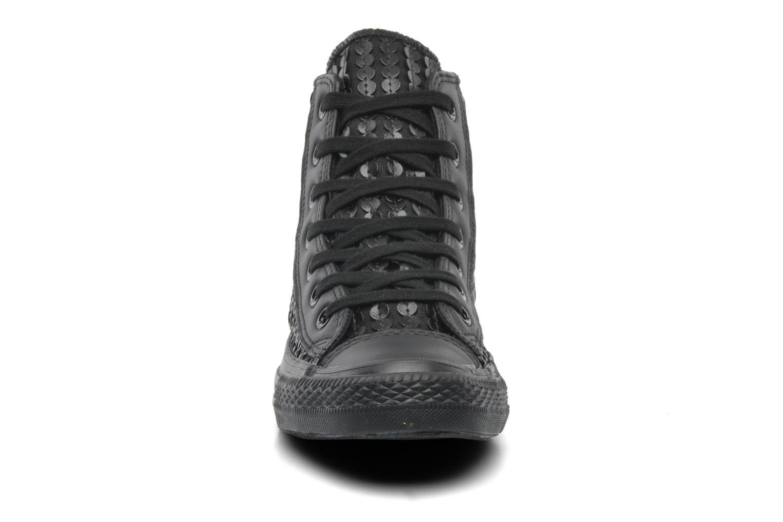 Sneaker Converse Chuck Taylor All Star Sequin Hi W schwarz schuhe getragen