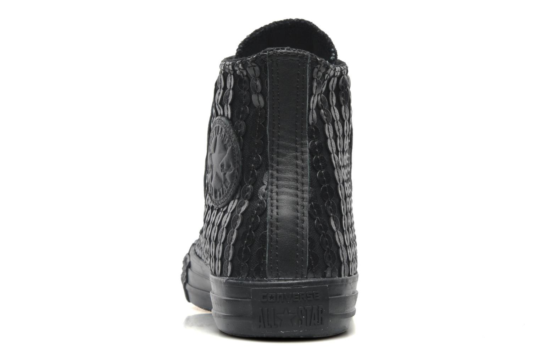 Sneaker Converse Chuck Taylor All Star Sequin Hi W schwarz ansicht von rechts