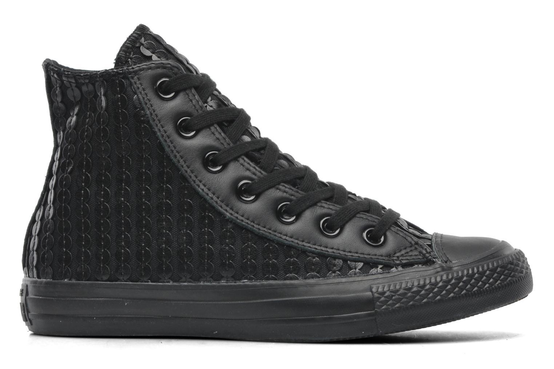 Sneaker Converse Chuck Taylor All Star Sequin Hi W schwarz ansicht von hinten