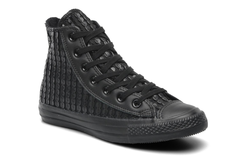 Sneakers Converse Chuck Taylor All Star Sequin Hi W Zwart detail