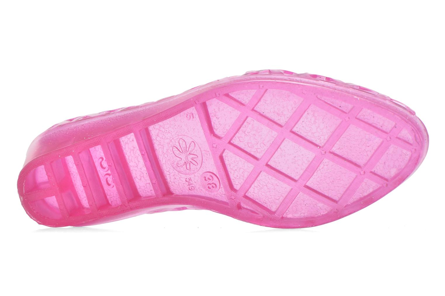 Ballet pumps Méduse Javana Pink view from above