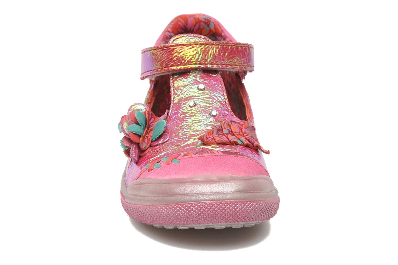 Chaussures à scratch Catimini CHARDON Rose vue portées chaussures