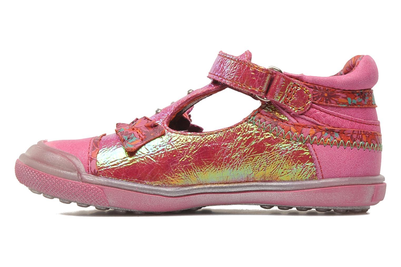 Chaussures à scratch Catimini CHARDON Rose vue face