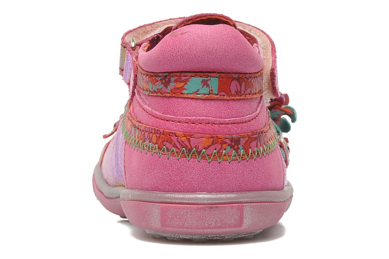 Chaussures à scratch Catimini CHARDON Rose vue droite