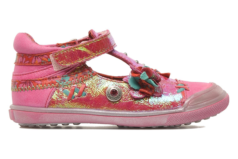 Chaussures à scratch Catimini CHARDON Rose vue derrière