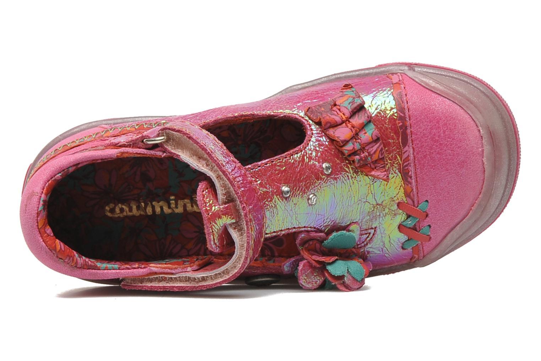 Chaussures à scratch Catimini CHARDON Rose vue gauche