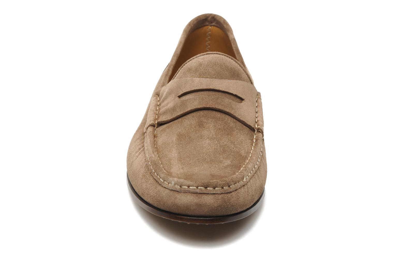 Mocassins Marvin&Co Pirouette Beige vue portées chaussures