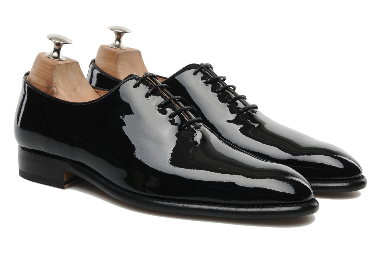 Zapatos con cordones Marvin&Co Luxe Wade - Cousu Goodyear Negro vista 3/4