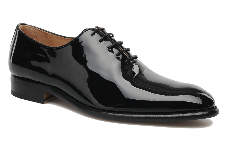 Zapatos con cordones Marvin&Co Luxe Wade - Cousu Goodyear Negro vista de detalle / par