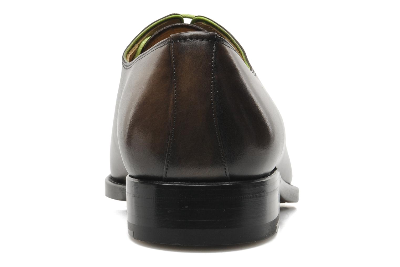 Snörade skor Marvin&Co Luxe Wade - Cousu Goodyear Grå Bild från höger sidan