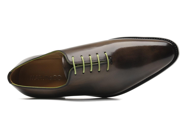 Zapatos con cordones Marvin&Co Luxe Wade - Cousu Goodyear Gris vista lateral izquierda