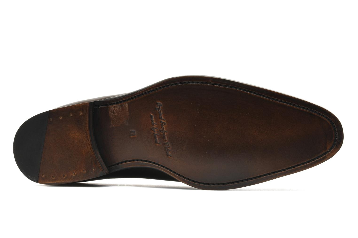Chaussures à lacets Marvin&Co Luxe Wade - Cousu Goodyear Gris vue haut