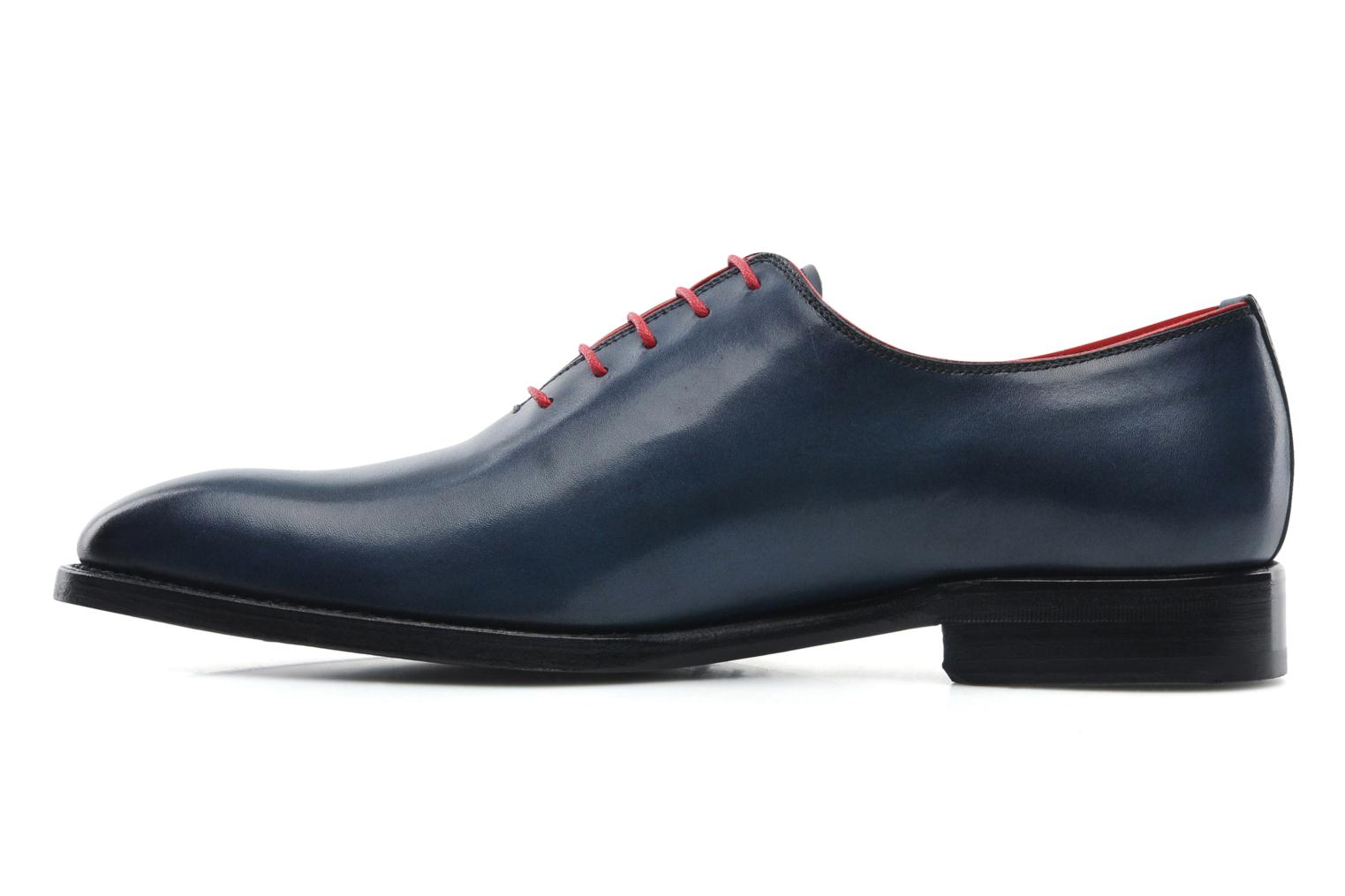 Chaussures à lacets Marvin&Co Luxe Wade - Cousu Goodyear Bleu vue face