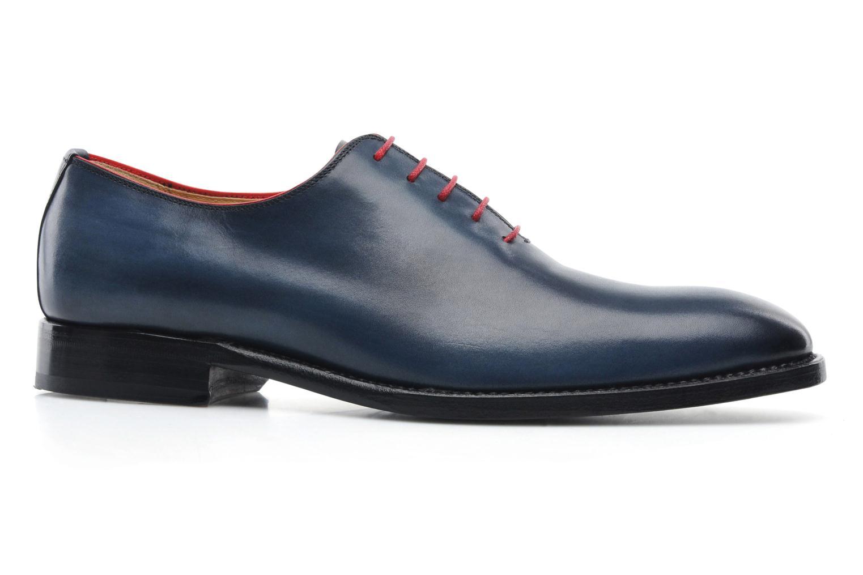 Schnürschuhe Marvin&Co Luxe Wade - Cousu Goodyear blau ansicht von hinten