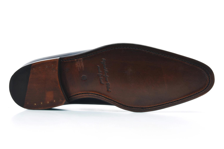 Chaussures à lacets Marvin&Co Luxe Wade - Cousu Goodyear Bleu vue haut