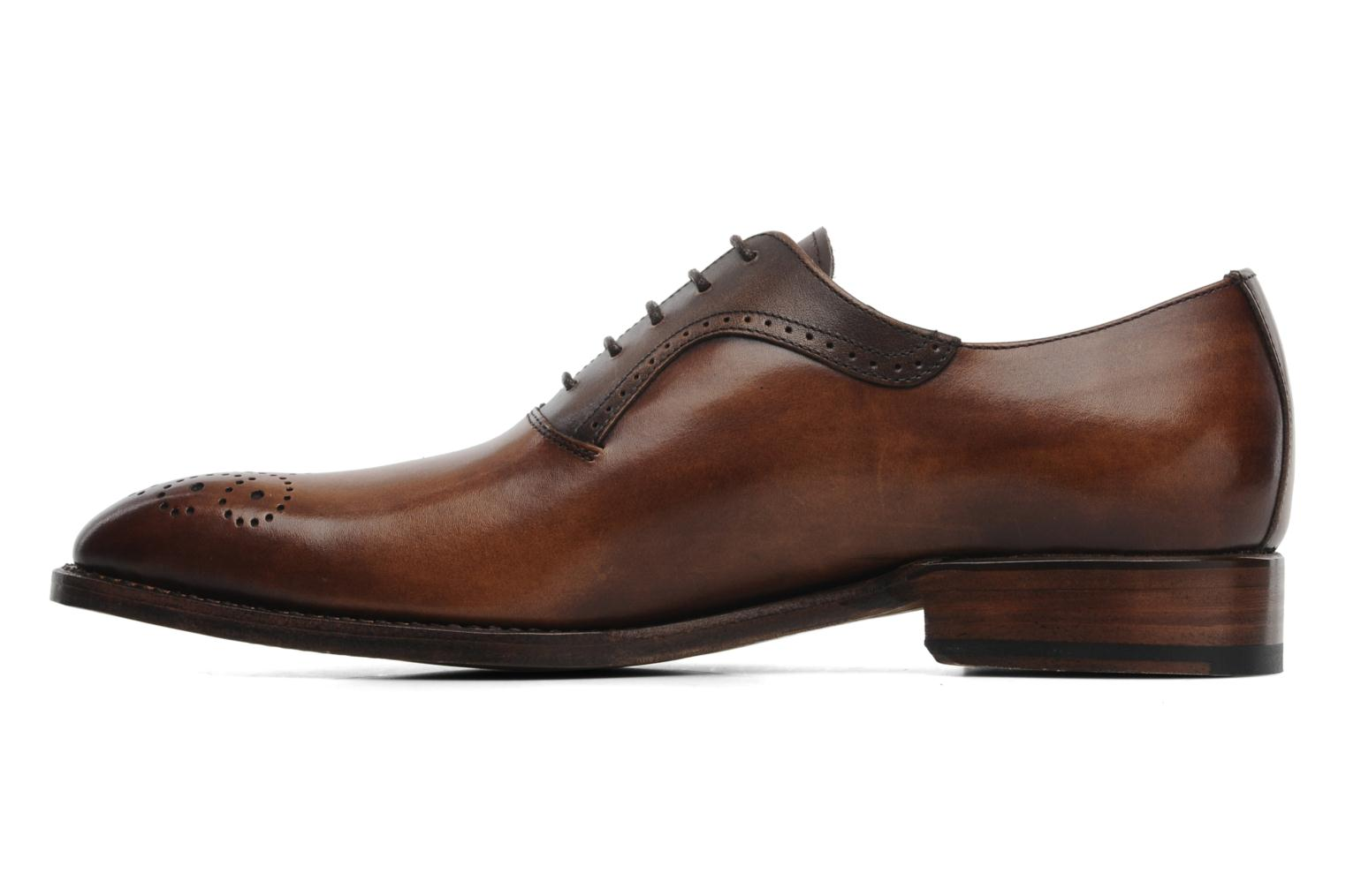Zapatos con cordones Marvin&Co Luxe Walburg - Cousu Goodyear Marrón vista de frente