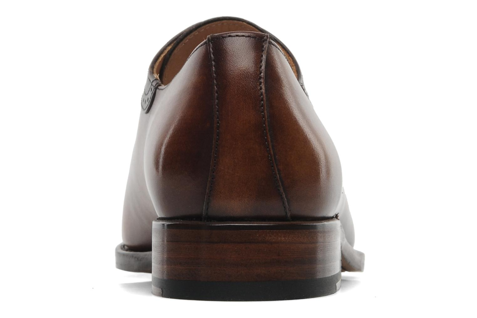 Lace-up shoes Marvin&Co Luxe Walburg - Cousu Goodyear Brown view from the right