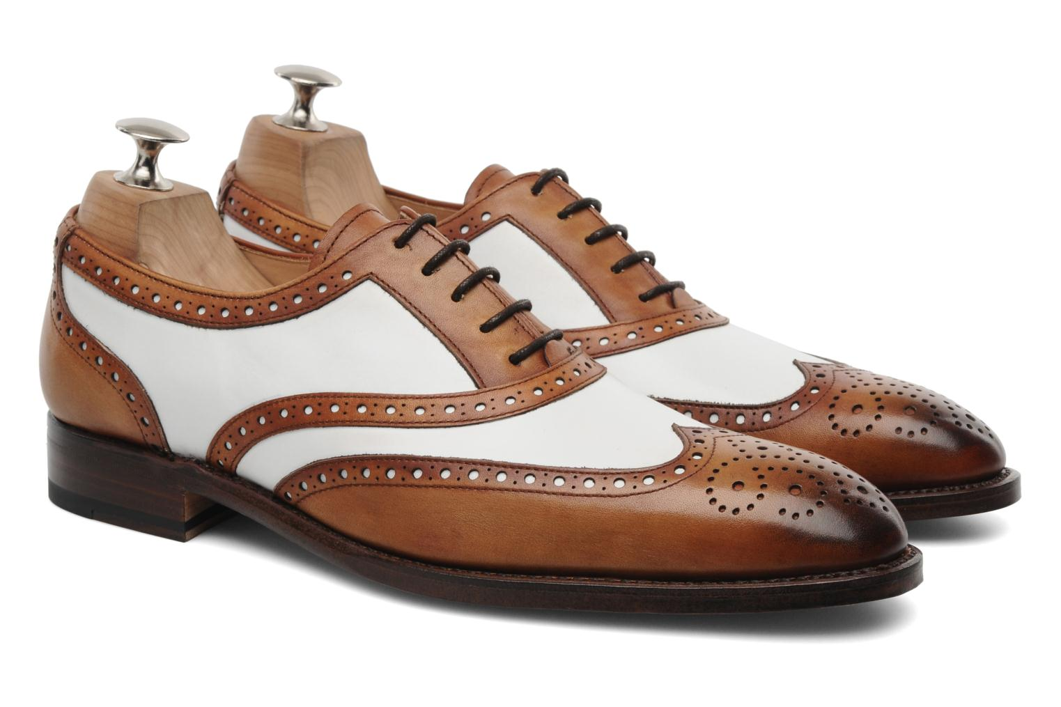 Chaussures à lacets Marvin&Co Luxe Waldemar - Cousu Goodyear Marron vue 3/4