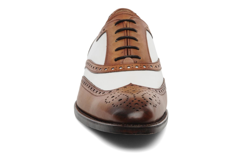 Zapatos con cordones Marvin&Co Luxe Waldemar - Cousu Goodyear Marrón vista del modelo
