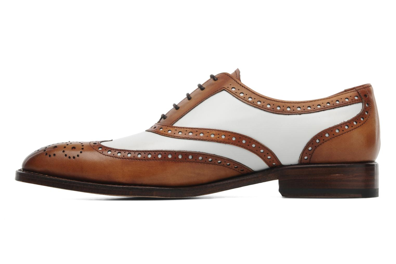 Zapatos con cordones Marvin&Co Luxe Waldemar - Cousu Goodyear Marrón vista de frente